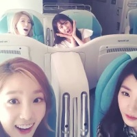 Check out SNSD TaeYeon's adorable video clip with Tiffany, Sunny and SeoHyun