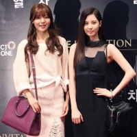 Girls' Generation's SeoHyun and SooYoung at the VIP Premiere of 'Snowpiercer'