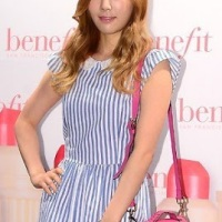 Girls' Generation's lovely TaeYeon at Benefit's Event