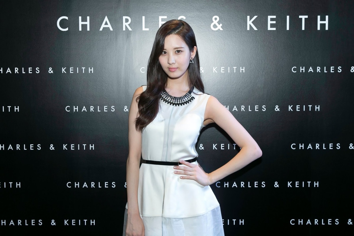 Girls' Generation's HyoYeon, SeoHyun and Yuri at Charles and Keith's Event