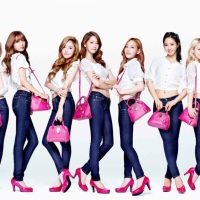 Check out the behind-the-scenes from SNSD's shoot for 'Samantha Thavasa'