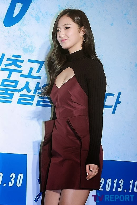 snsd�s yuri at the vip premiere of her movie �no breathing