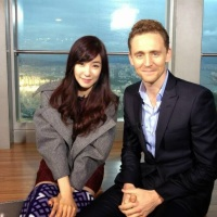Watch SNSD Tiffany's interview with Tom Hiddleston