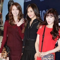 Girls' Generation's Tiffany, YoonA and Yuri attends the VIP premiere of 'Tough as Iron'