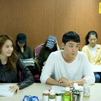 SNSD's YoonA at the Script Reading of her drama 'The Prime Minister is Dating'