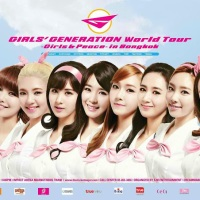 Girls' Generation World Tour 'Girls & Peace' will be held in Bangkok on January 2014!