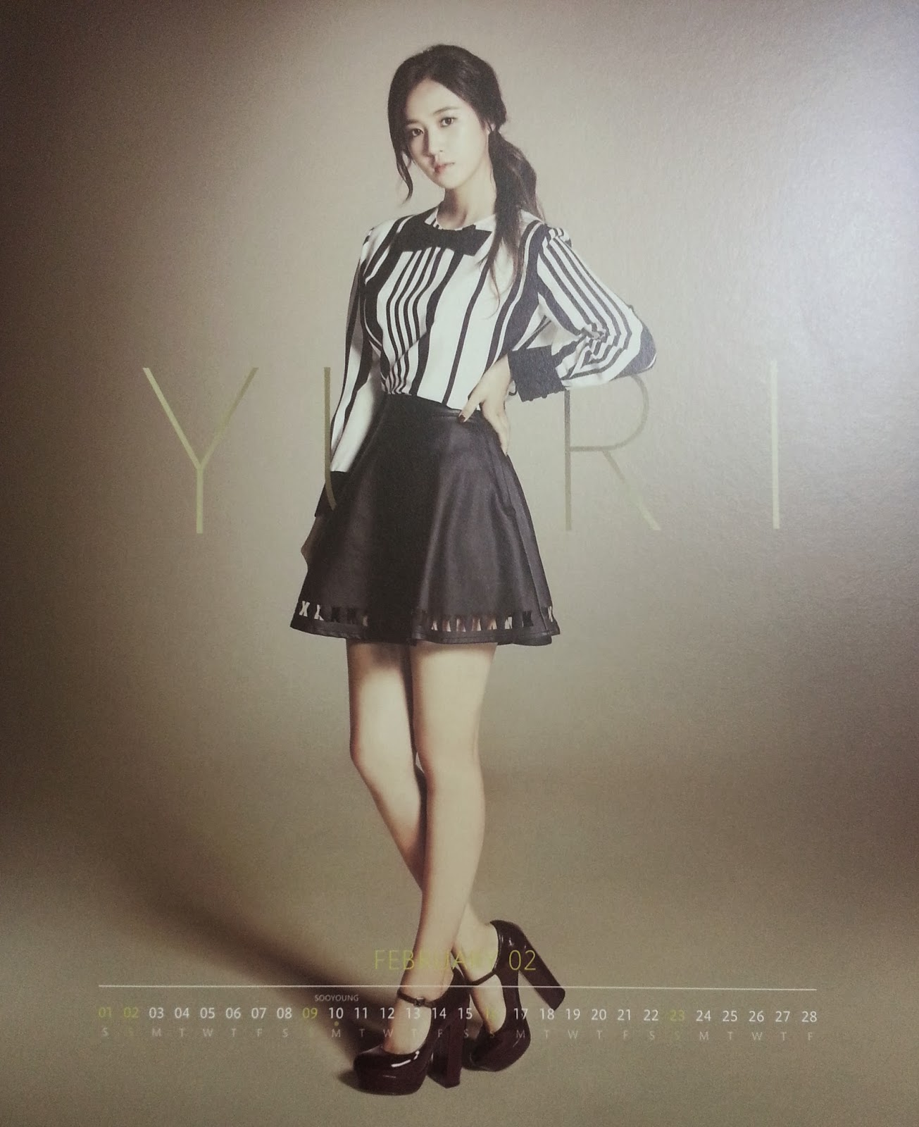 Calendar 2014, Sooyoung and SNSD on Pinterest
