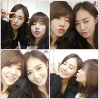 SNSD's Sunny snapped some cute photos with Birthday Girl Yuri!