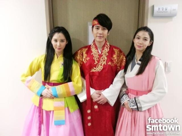 snsd seohyun kyuhyun lina moon embracing sun musical (1)