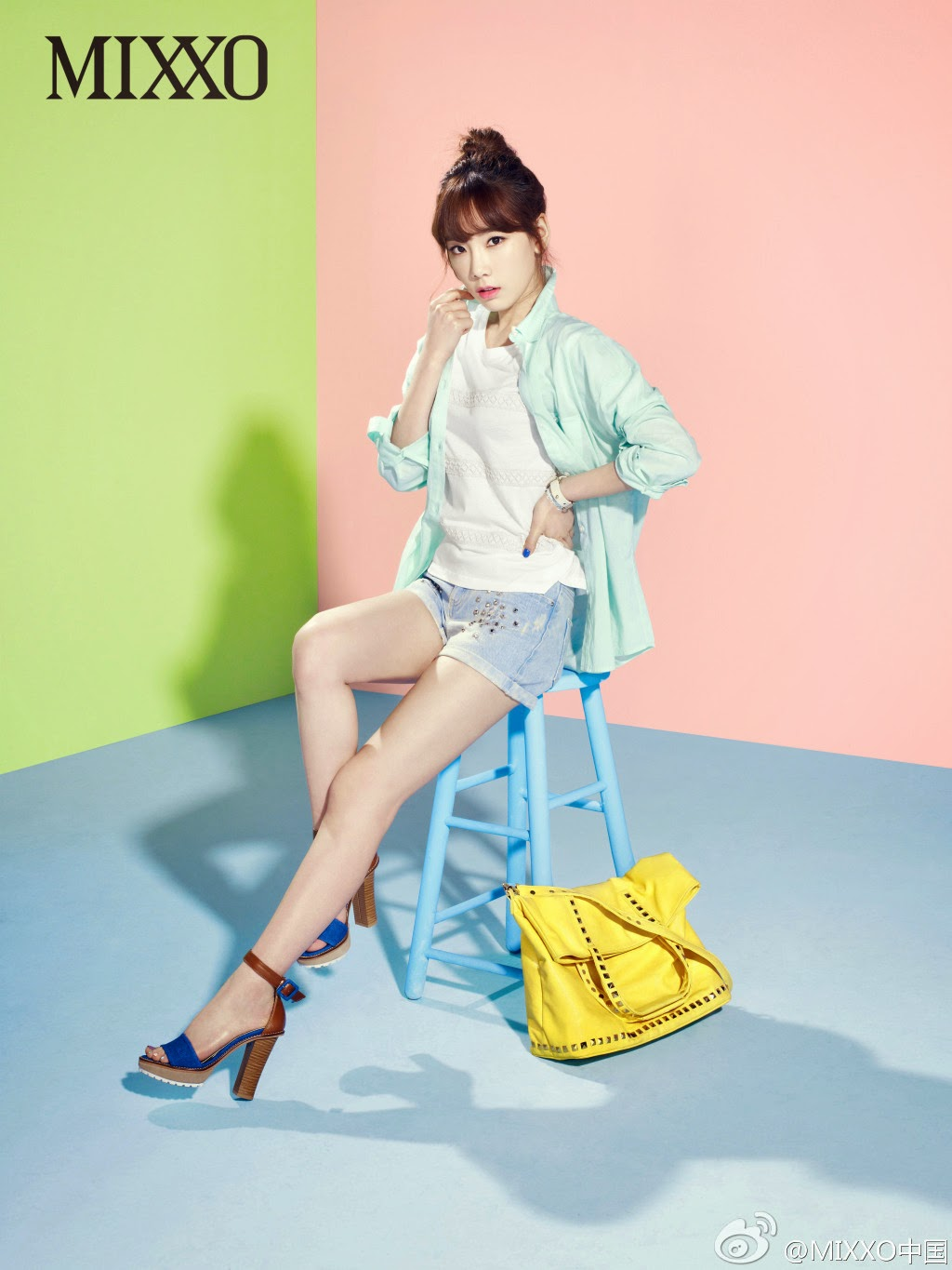 More of SNSD's TaeYeon, Tiffany and SeoHyun for clothing ...