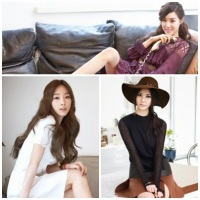 The lovely TaeYeon, Tiffany and SeoHyun of SNSD for 'Vogue' magazine!