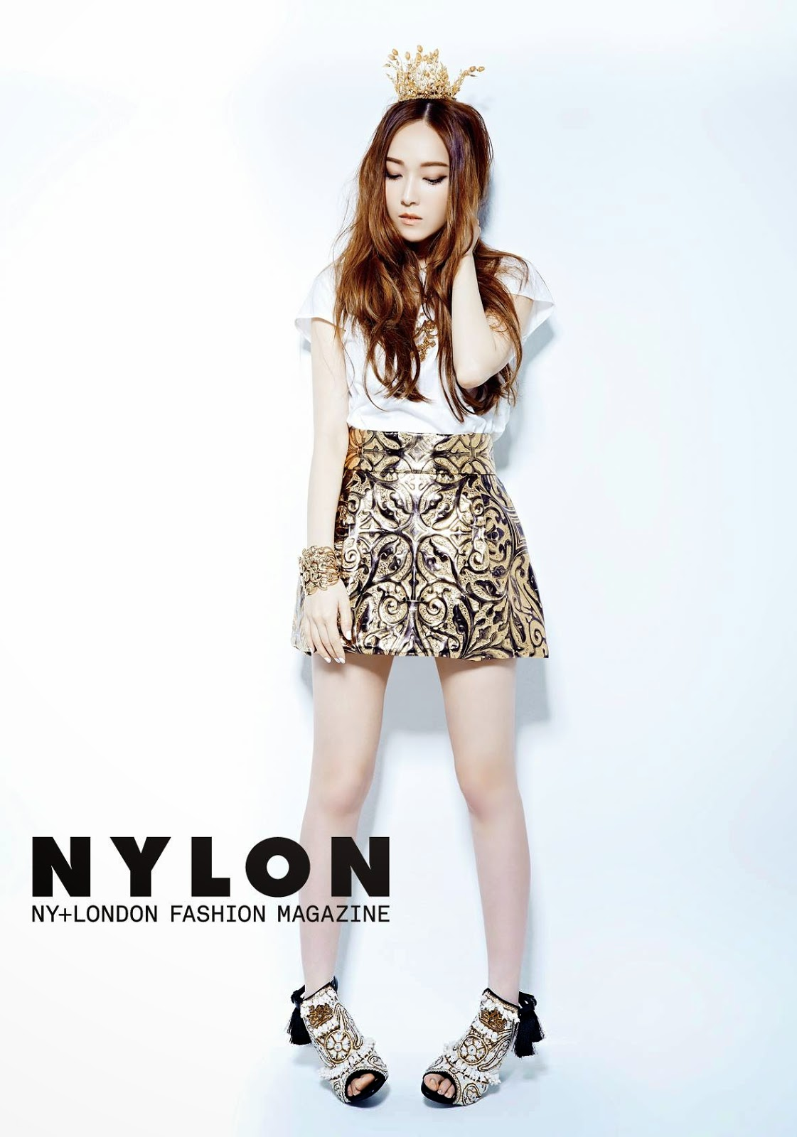 Snsd S Jessica And F X S Krystal For Nylon Magazine S June Issue Pinks Land