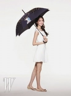 YoonA Share Your Umbrella Campaign