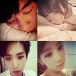 snsd taeyeon exo baekhyun dating