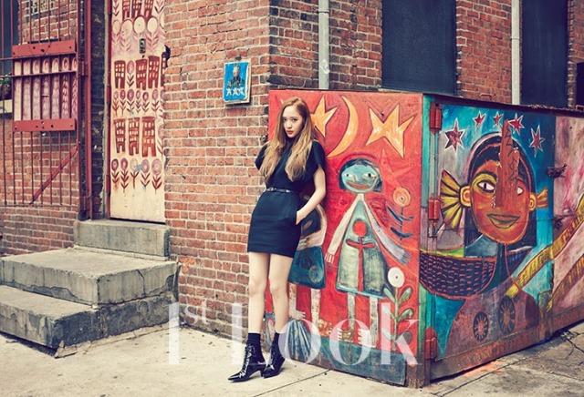 f(x) krystal 1st look magazine